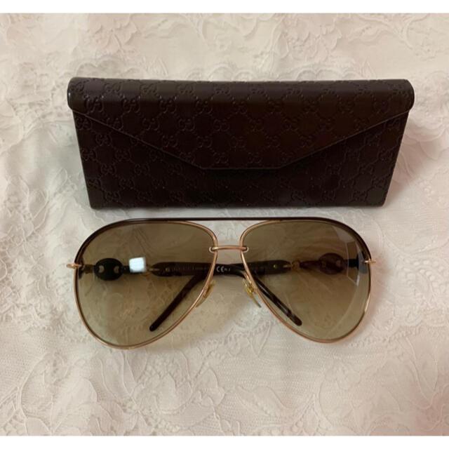 Gucci(グッチ)のGUCCI グッチ  サングラス ティアドロップ レディースのファッション小物(サングラス/メガネ)の商品写真