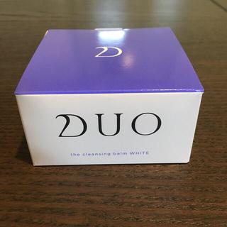 【新品】DUO(デュオ) ザ クレンジングバーム ホワイト