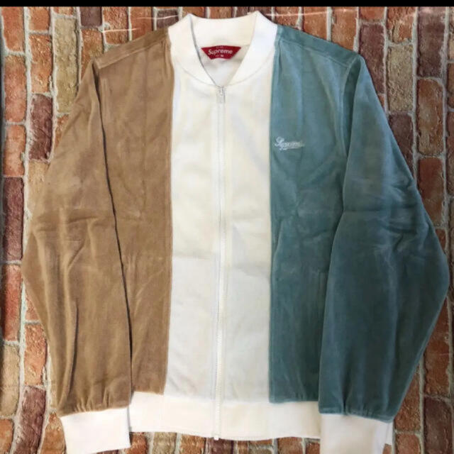 Supreme(シュプリーム)の[希少]supreme ベロアジャケット メンズのジャケット/アウター(ブルゾン)の商品写真