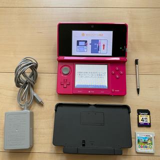 ニンテンドー3DS - 3DS ニンテンドー3DS 本体 SDカード とびだせ どうぶつの森