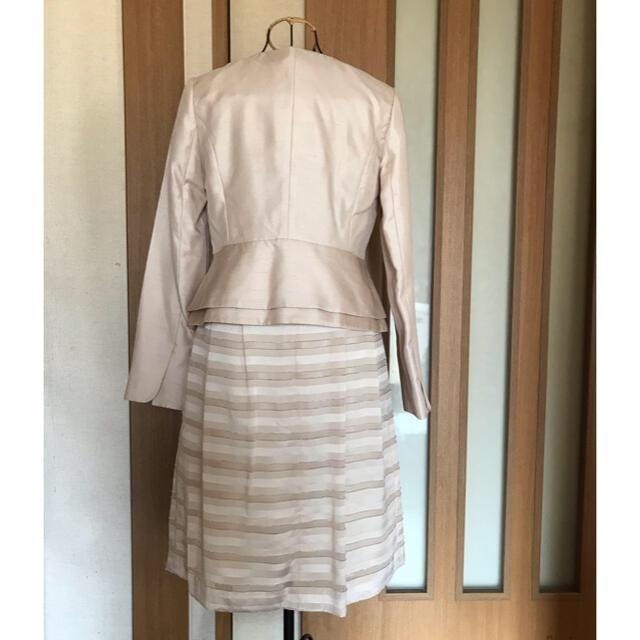 ツーピース ( ホワイトジョーラ ) レディースのフォーマル/ドレス(スーツ)の商品写真