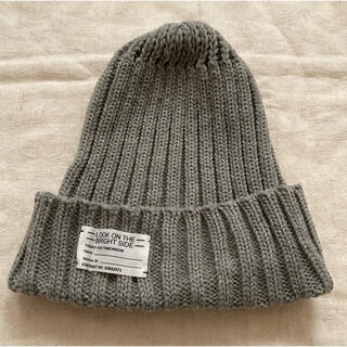 ジーユー(GU)のジーユー GU ニット帽 ニットキャップ (ニット帽/ビーニー)
