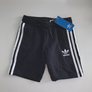 adidas - adidas アディダスオリジナルス ハーフパンツ 黒 (110)