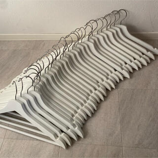 IKEA - IKEA イケア ハンガー 中古 30本 白 ホワイト