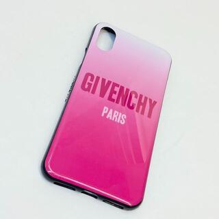 ジバンシィ(GIVENCHY)のジバンシー iPhoneケース  プラスチック ピンク(iPhoneケース)