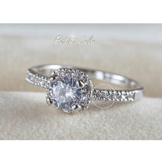 SWAROVSKI - 定価10,000円 指輪 リング スワロフスキー ジルコニア 宝石