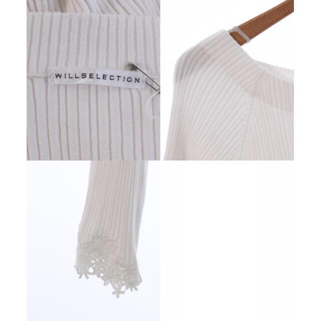 WILLSELECTION(ウィルセレクション)のWILLSELECTION ニット・セーター レディース レディースのトップス(ニット/セーター)の商品写真