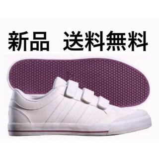 adidas - 【レア】adidas ベルクロ スタンスミス風 ホワイトスニーカー 26cm