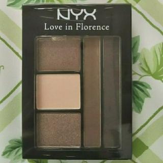 エヌワイエックス(NYX)のNYX アイシャドウパレット Love in Florence(アイシャドウ)