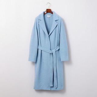 MACKINTOSH - 新品 大きいサイズ マッキントッシュ ウール丸編みコート 44 75900円