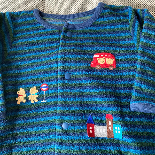 familiar(ファミリア)のファミリア ロンパース ツーウェイオール キッズ/ベビー/マタニティのベビー服(~85cm)(ロンパース)の商品写真