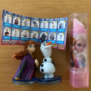 アナトユキノジョオウ(アナと雪の女王)のアナと雪の女王 チョコエッグ 消しゴム(キャラクターグッズ)