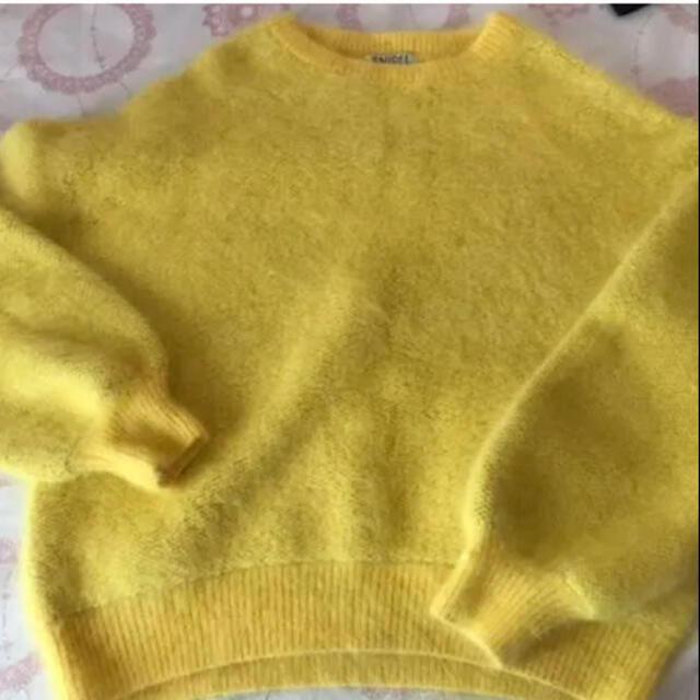 snidel(スナイデル)のSNIDEL♡黄色ニット レディースのトップス(ニット/セーター)の商品写真