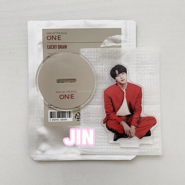 防弾少年団(BTS)(ボウダンショウネンダン)のBTS ON:E on:e ラッキードロー ジン JIN  エンタメ/ホビーのCD(K-POP/アジア)の商品写真