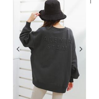 アリシアスタン(ALEXIA STAM)のBack 3D Separated Logo Sweatshirt(トレーナー/スウェット)