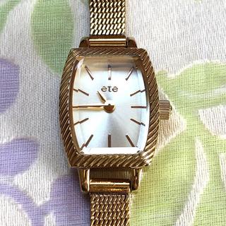 ete - ete   ㉘ 腕時計・稼動品✨