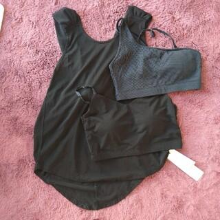 エミアトリエ(emmi atelier)の新品タグつき emmi yoga トップス(Tシャツ(半袖/袖なし))