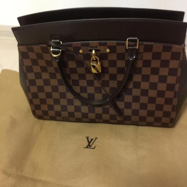 LOUIS VUITTON(ルイヴィトン)のルイヴィトン ハンドバッグ ダミエ エベヌ リヴォリMM レディースのバッグ(ハンドバッグ)の商品写真
