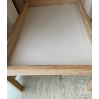 イケア(IKEA)のIKEA おむつ台 画像確認用(おむつ替えマット)