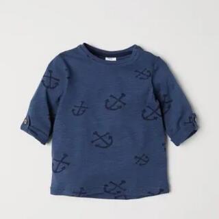 エイチアンドエム(H&M)のセール!人気完売!H&M イカリ柄ロンT 長袖Tシャツ トップス 92cm(Tシャツ/カットソー)