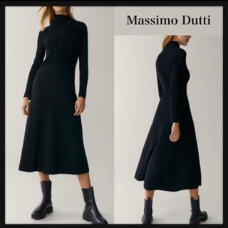 マッシモデュッティ(Massimo Dutti)のMassimo Dutti black one-piece (ロングワンピース/マキシワンピース)
