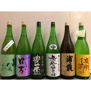鳳凰美田 豊盃 他一升瓶6本セット(日本酒)