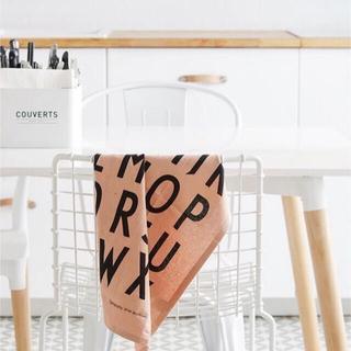 アクタス(ACTUS)のDesign letters / デザインレターズ  デザレタ T タオル(収納/キッチン雑貨)