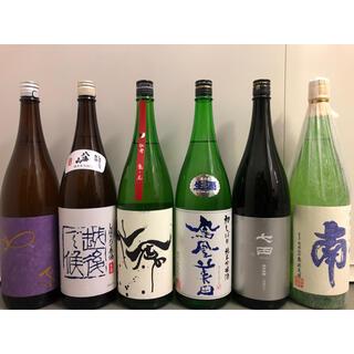 日本酒 鳳凰美田 七田 八海山 他一升瓶6本セット(日本酒)