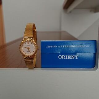 オリエント(ORIENT)のORIENT ゴールド腕時計(腕時計)