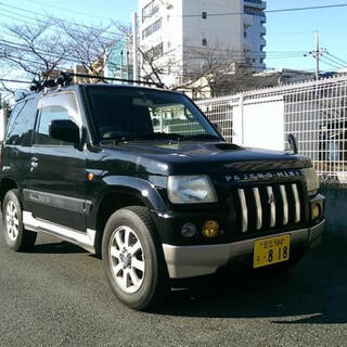 三菱 - 三菱 パジェロミニ デューク ' 99年式 黒