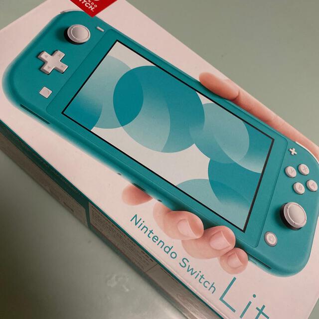 Nintendo Switch(ニンテンドースイッチ)のNintendo Switch Lite✨ターコイズ エンタメ/ホビーのゲームソフト/ゲーム機本体(携帯用ゲーム機本体)の商品写真