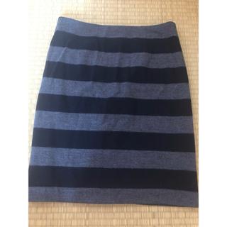 バンヤードストーム(BARNYARDSTORM)のBARNYARDSTORM バンヤードストーム ボーダースカート サイズ1 (ひざ丈スカート)
