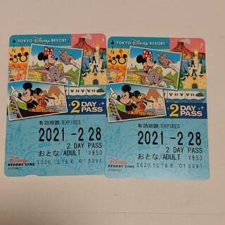ディズニー(Disney)のディズニーリゾートライン フリーパス(鉄道乗車券)