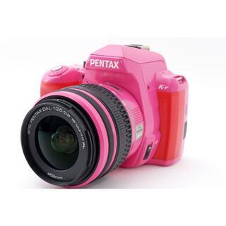 PENTAX - 希少限定カラー‼☆WI-FI付き♪☆PENTAX ペンタックス K-r ピンク