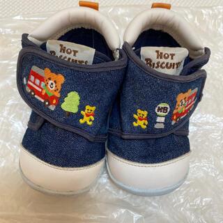 ホットビスケッツ(HOT BISCUITS)のミキハウス ホットビスケッツ 靴13㎝(スニーカー)