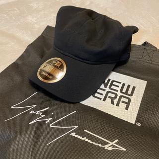 ニューエラー(NEW ERA)のYohji Yamamoto × NEW ERA cap ウールギャバキャップ(キャップ)