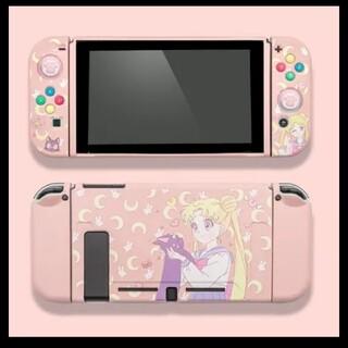 Nintendo Switch - switch セーラームーン カバー うさぎ ルナ 任天堂 スイッチ 新品