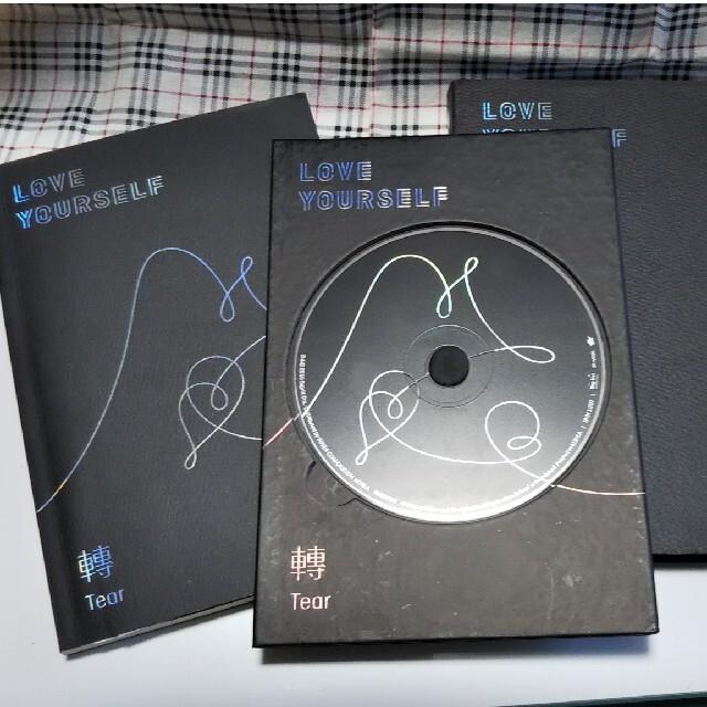 防弾少年団(BTS)(ボウダンショウネンダン)のBTS 防弾少年団 アルバム LOVE YOURSELF 轉 Tear U  エンタメ/ホビーのCD(K-POP/アジア)の商品写真