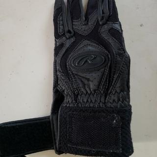 ローリングス(Rawlings)のローリングスRawlings☆ジュニア守備手袋 黒(ウェア)