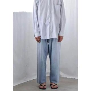 COMOLI - 新品タグ付き COMOLI 21ss 5P デニム パンツ ブリーチ サイズ1