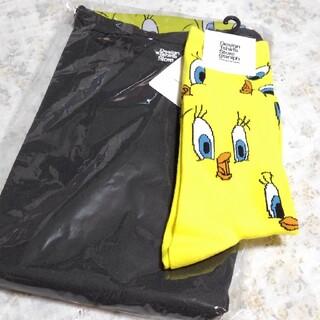 Design Tshirts Store graniph - 新品未使用!グラニフ バックスバニー トゥイーティー ワンピース 靴下 セット