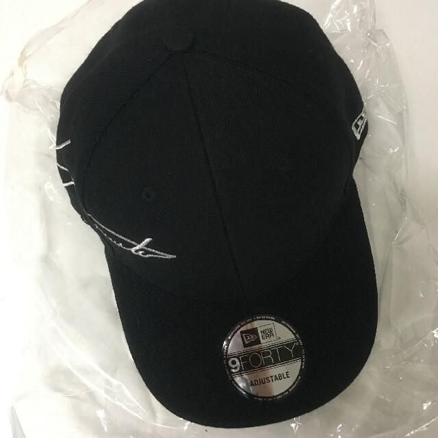 Yohji Yamamoto(ヨウジヤマモト)のyohji yamamoto x new era キャップ メンズの帽子(キャップ)の商品写真