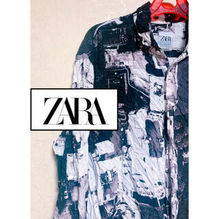 ザラ(ZARA)のZARA メンズ 柄シャツ(シャツ)