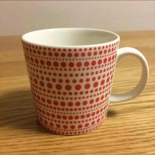 イッタラ(iittala)の廃盤 イッタラ マグカップ クルク 赤 レッド(グラス/カップ)