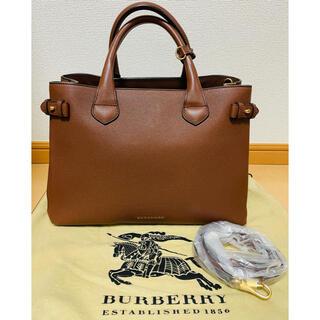 バーバリー(BURBERRY)のバーバリー Burberry ミディアムバナーバッグ ショルダーバッグ(ショルダーバッグ)