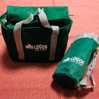 ロゴス(LOGOS)のLOGOS  クーラーバック&ペットボトルケース(弁当用品)