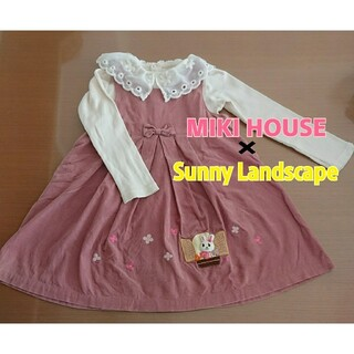 mikihouse - MIKI HOUSE × sunnyLandscape ワンピース&トップス