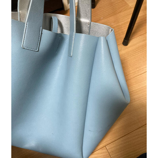 ZARA(ザラ)のZARA ザラ バッグ リバーシブル レディースのバッグ(トートバッグ)の商品写真