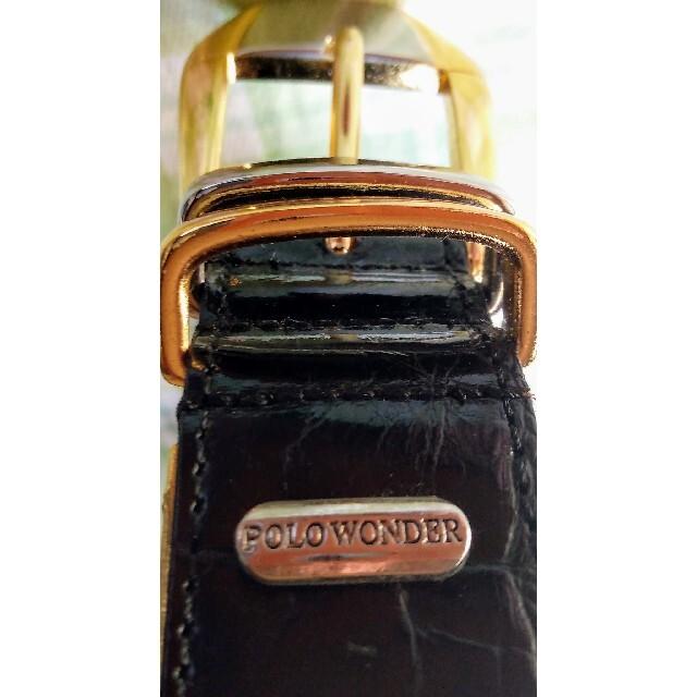 黒色メンズベルト(全長:約100㎝) メンズのファッション小物(ベルト)の商品写真
