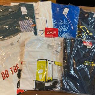 グラニフ(Design Tshirts Store graniph)の抜き取りなし即完売 早い者勝ち(新品)2021 グラニフ福袋 サイズL(Tシャツ/カットソー(半袖/袖なし))
